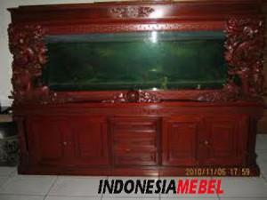 Aquarium Kayu Ukir Mewah IM189