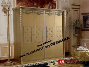 Almari Pakaian Modern Pintu 4 IM293