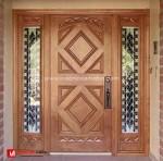 Pintu Rumah Jaring Laba-Laba
