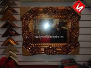 Frame Mirror Ukir Mewah