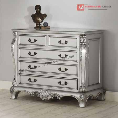 Drawer Silver Ukir Jepara