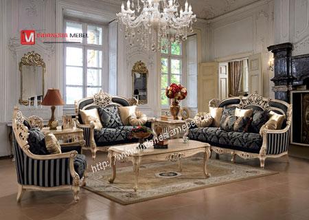 Kursi Tamu Sofa Mewah Ukir Classic