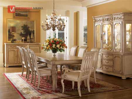 Set Meja Kursi Makan Verera,dining room set.
