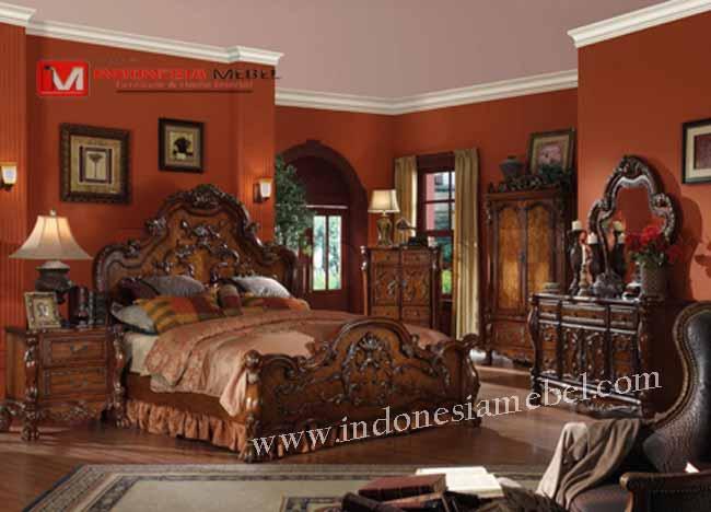 Kamar Tidur Set Victorian Classic,Kamar Set.