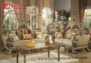 Kursi Tamu Sofa Victorian Fiorenza