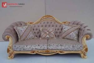 Kursi Sofa Mewah Ulir