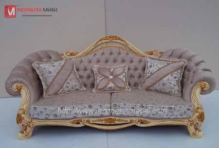 Kursi Sofa Mewah Ulir IM 457