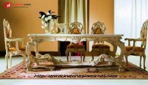 Meja Kursi Makan Mewah Eetafel