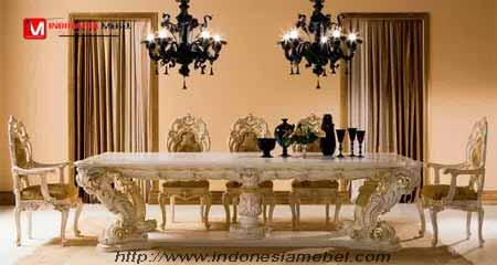 Meja Kursi Makan Minerva,kursi makan minerva,meja makan mewah.
