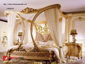 Tempat Tidur Mewah Ukir Niva
