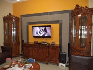 Buffet TV Ukir Davinci