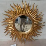 Sun Gold Pigura Cermin