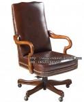 Kursi Kantor Classic Brown Minimalis IM 993