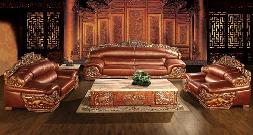 kursi sofa full ukiran jepara IMJ 002