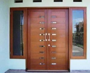 Minimalis Brown Door IMJ 035