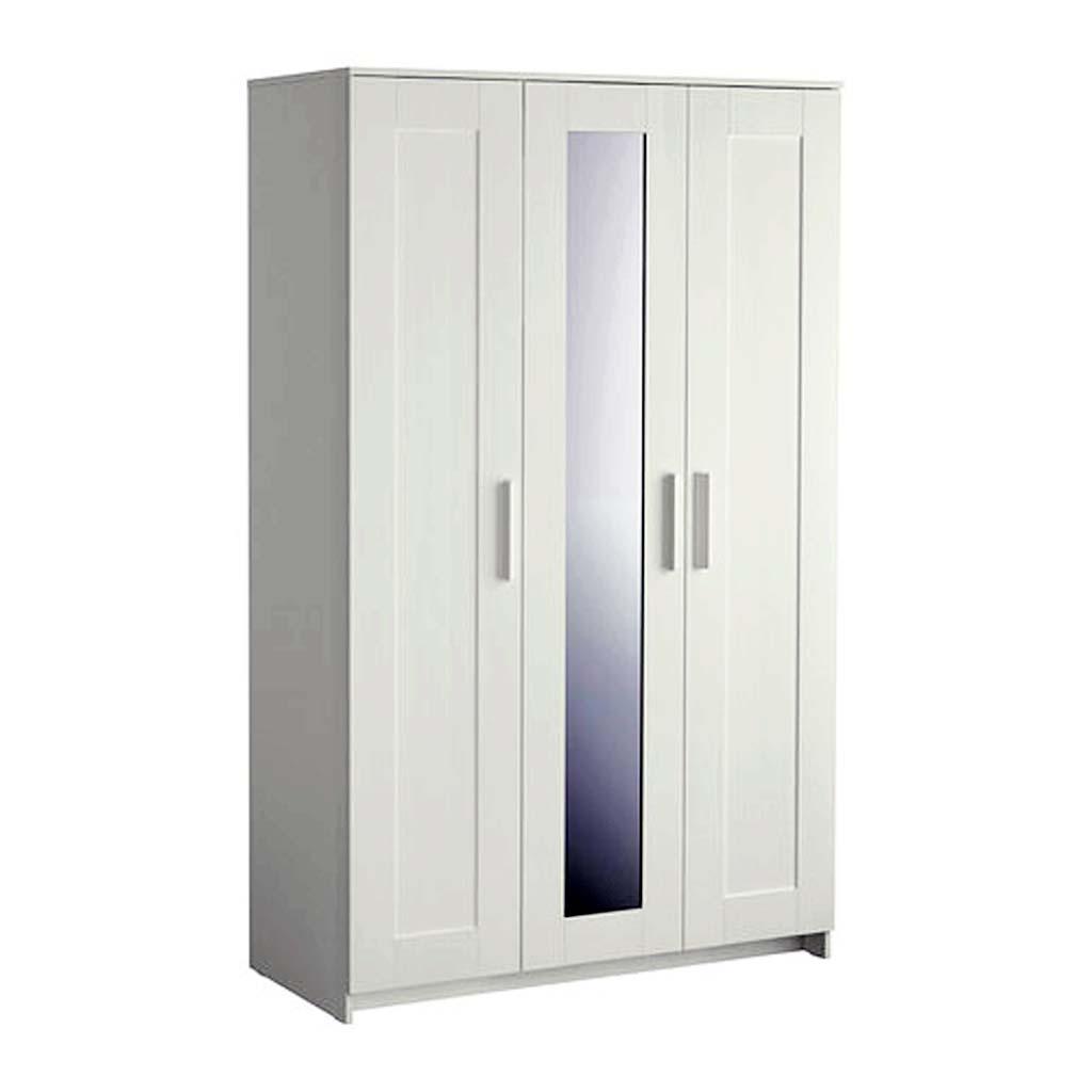 Almari Pakaian Tiga Pintu White Duco IMJ 024