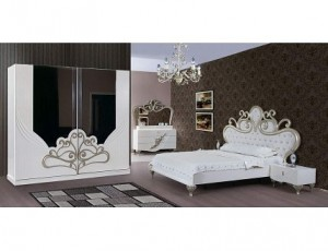 King Luxurious Bedroom Set IMJ 041