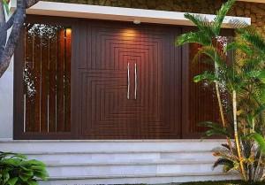 Pintu Utama Rumah Modern IMJ 032