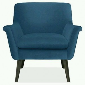 Kursi Single Soft Sofa Blue IMJ 016