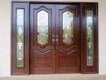 Pintu Depan Mewah Jati IMJ 031