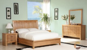 Light Brown Bedroom Set IMJ 043