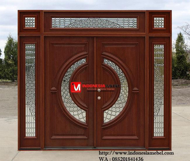 Pintu Rumah Jati Modern IMJ 047