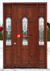 Pintu Rumah Jati Samping IMJ 408