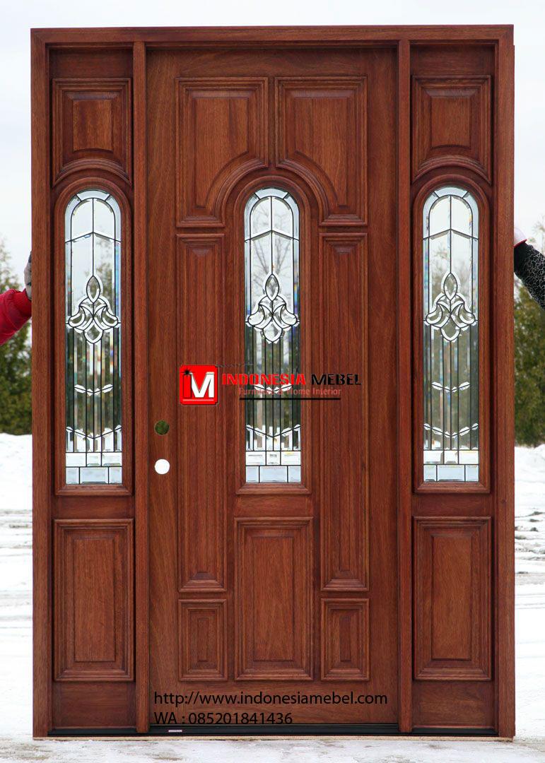 Pintu Rumah Jati Samping IMJ 048