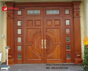 Pintu Utama Rumah Jati Pasundan IMJ 049