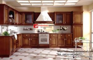 Kitchen Set Jati Bandung IMJ 054