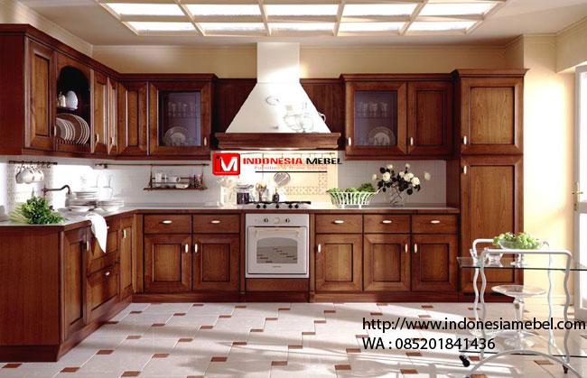 Kitchen Set Jati Bandung IMJ 054 Dapur Kotor