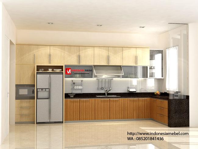 Model Kitchen Set Rumah Minimalis Jakarta