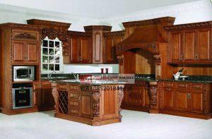 Kitchen Set Rumah Mewah Dapur Bersih